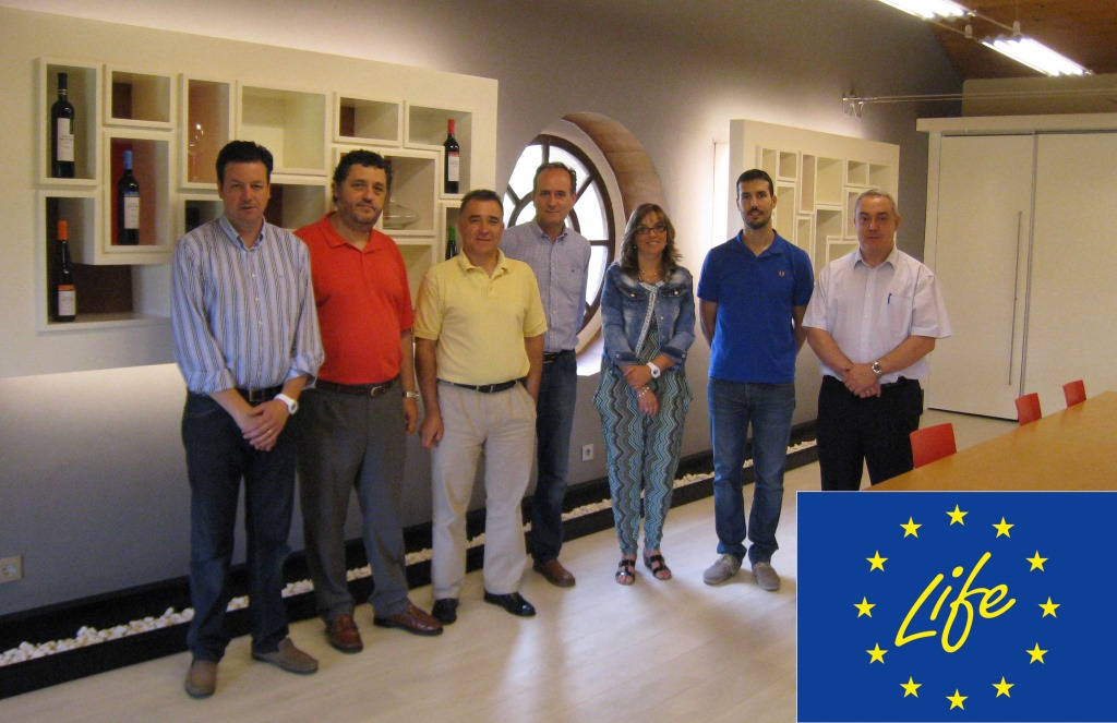 Reunión Viñas del Vero, UNIZAR e Intergia. Barbastro 02/07/2014