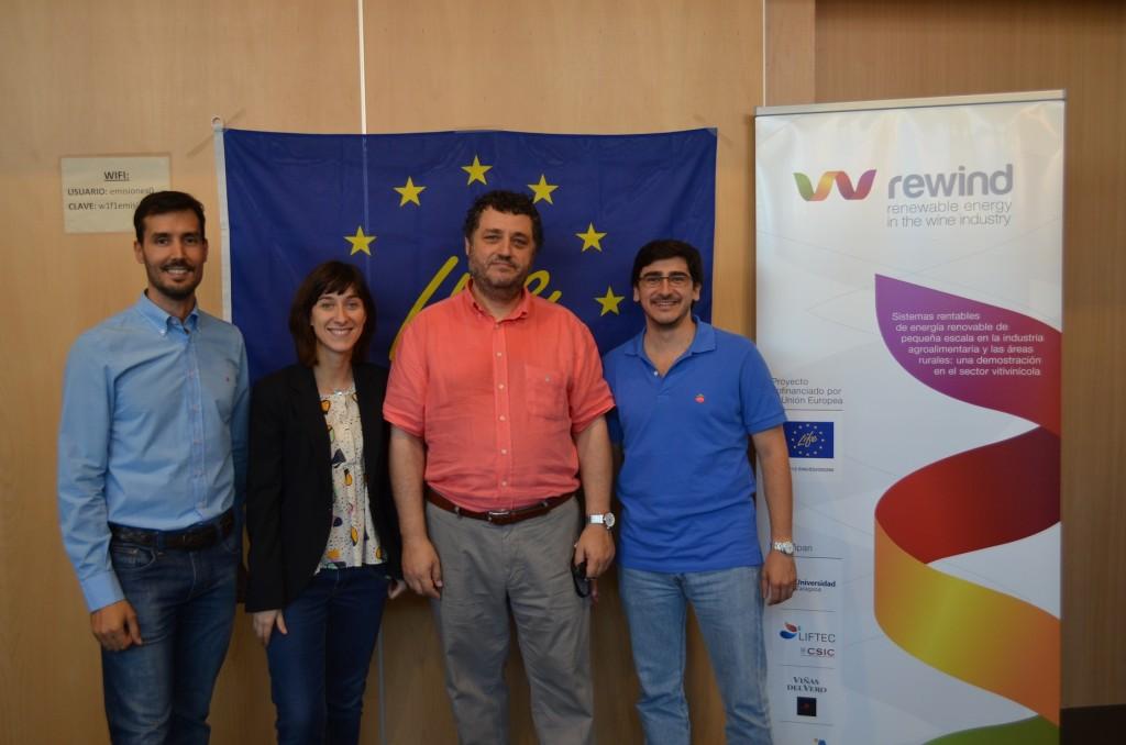 Presentación del proyecto en CIEM Milla Digital. Zaragoza 03/10/2014.