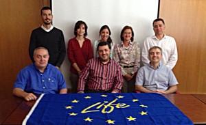 Segunda reunión de gestión. Zaragoza, 27/10/2014.