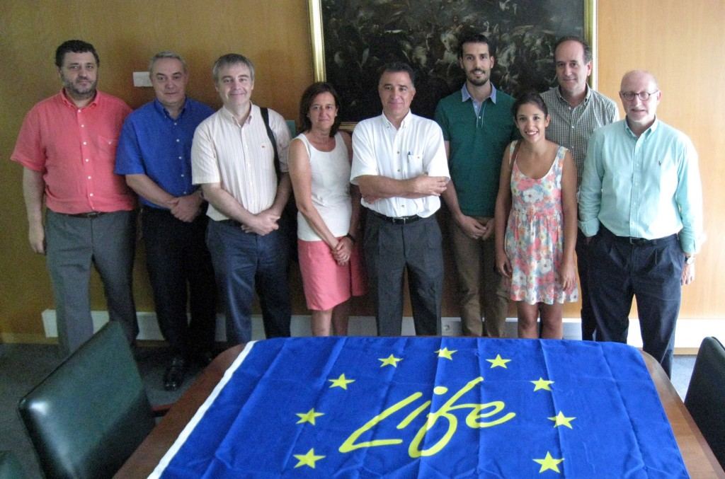 Primera reunión de gestión. Zaragoza, 24/07/2014.