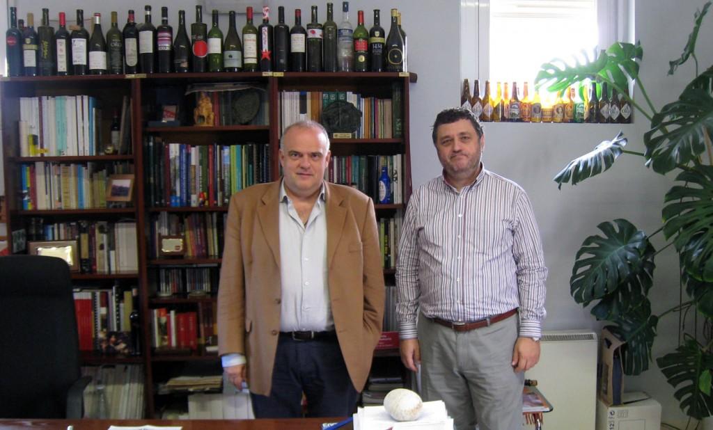 En IMIDRA con Félix Cabello